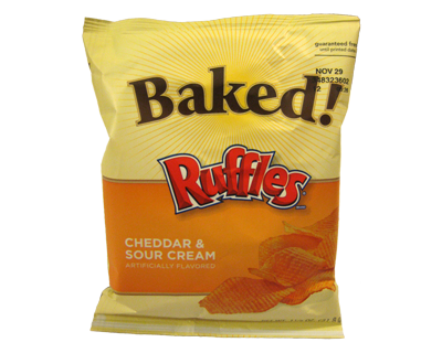Baked Ruffles Cheddar & Sour Cream