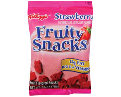 Fruity Snacks Strawberry